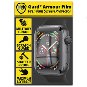 Gard for Apple Watch Series 4/5/SE/6 44mm Screen Protector - Curved Fit - 3 PACK