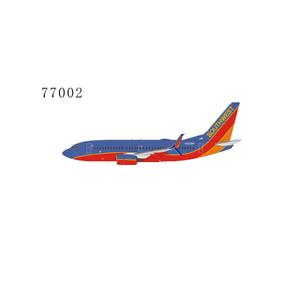 NG Models 1:400 Southwest 737-700 N252WN Canyon Blue; scimitar winglets 77002
