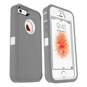 For Apple iPhone SE 5s 5 Case w/ Screen Protector Series Fits Defender Belt Clip