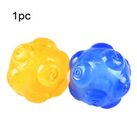 Dog Cat Chew Toy Ball Bite Resistant Training Pet Giggle Sound Play High Bounce