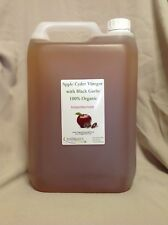 "Apple Cider Vinegar & Black Garlic (100% Organic) 5 Litre with ""the Mother"""