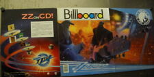 Zz Top Texas To The Universe Rare 1987 Supersized Promo Poster Ad