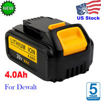 For Dewalt DCB205 20 Volt Max XR 4.0Ah Lithium Ion Battery DCB204 DCB200 DCB184