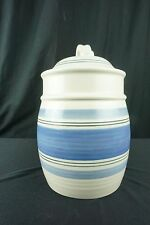 """Pfaltzgraff Rio 10 1/2"""" Large Canister Cookie Jar With Sealing Lid"""