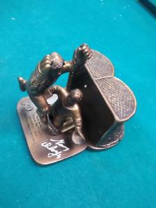 Gary Dornhoefer SIGNED PHILADELPHIA FLYERS  STH TICKET GIVEAWAY NHL Figurine