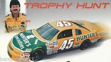 "JEFF FULLER ""HUNTER'S SPECIALTIES TROPHY HUNT"" #45 NASCAR BUSCH SERIES POSTCARD"