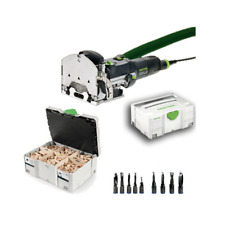 FESTOOL DOMINO DÜBELFRÄSE DF 500 Q-Plus/DS 712517 574325 + Dübelsortiment