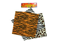 Cheetah,Leopard, zebra Animal Print Graduation Cap Cover -1 Dozen NEW