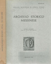 Archivio Storico Messinese Vol. XXIX