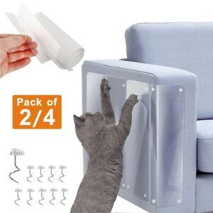 2/4PCS Cat scratcher board Protector Guard Couch Sofa Furniture Anti-Scratching