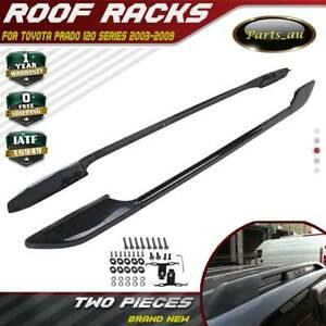 2 Bar Premium Roof Rails Roof Racks Fit for TOYOTA PRADO 120 Series 2003-2009