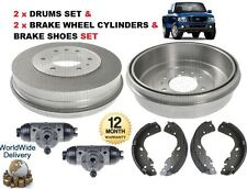 FOR FORD RANGER 4x4 2006-12/2011 REAR 2x BRAKE DRUMS & SHOES & 2x WHEEL CYLINDER