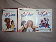 Little Britain series 1 to 3 dvd