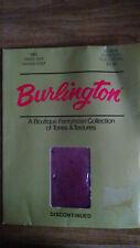 BURLINGTON Swiss Dot Sandalfoot Pantyhose  ~ Medium ~ Burgundy