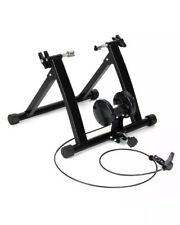 Foldable Magnetic Indoor Turbo Trainer 8 Level Resistance Road Bike Training NEW