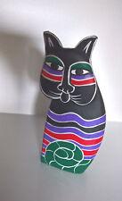 Katze Figur Holz 80er eventuell von Rosina Wachtmeister