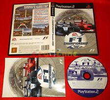 F1 CHAMPIONSHIP SEASON 2000 Ps2  Formula F1 Ver Italiana 1ª Ed ○ COMPLETO - ET