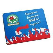 Blackburn Rovers F.C - Personalised Mouse Mat (Legend)