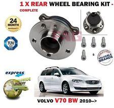 pour Volvo V70 break 2010> NEUF 1 x Kit roulement de roue arrière + boulons