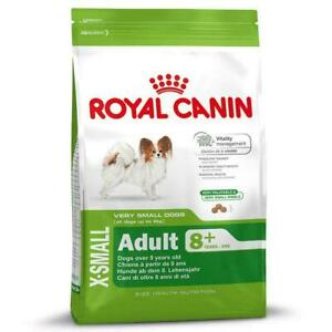 Royal Canin Dog Dry Food X-Small up to 4kg, Adult Mature Senior 8 Years+ - 1.5kg