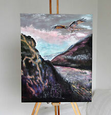 """Valley of the Red Kite"" (Red Kite Country) Original Painting"