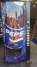 Royal Vendors Pepsi Cola Vending Machine 768-10 Melin Iv Refurb 12,16 & 20 oz
