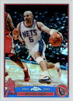 2003-04 Topps Chrome Refractors Basketball Card Pick