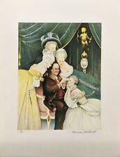 """Norman Rockwell """"Ben'S Belles"""" 1973   Hand Signed Print   Poor Richard'S Almanac"""
