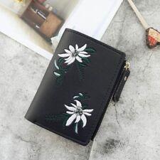Handbag Small Photo Coin Purse Print Flower Purse PU Clutch Wallet Pocket