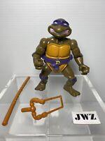 DONATELLO w/ STORAGE SHELL - TMNT - Teenage Mutant Ninja Turtles - VINTAGE 🔥🔥
