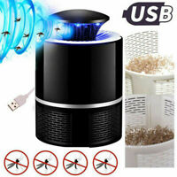 Electronic Fly Bug Insect Mosquito Killer Pest Control LED Light Trap Lamp USB