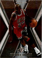 2005-06 Upper Deck SPx Basketball Cards #10 Michael Jordan Chicago Bulls