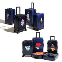 """OFFICIAL BT21 LUGGAGE UNIVERSTA 20"""" & 24"""" by MONOPOLY LINEFRIENDS, AUTHENTIC BTS"""