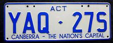 "Nummernschild Australien ACT-CANBERRA ""THE NATION`S CAPITAL"". S-3778."