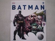 Batman: A Visual History by Matthew K. Manning Hardcover Book in Case (English)