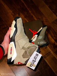 "Air Jordan 6 Retro ""Cactus Jack - Travis Scott"""