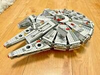 1381PCS Star Wars Millenium Falcon Spacecraft Building Blocks Fighter AirPlane