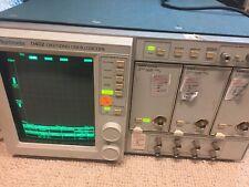 Tektronix 11402 Digital Oscilloscope Mainframe 2d Memory Expn With Three 11a71s
