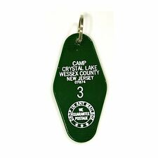 FRIDAY THE 13TH Camp Crystal Lake Cabin Room MOVIE Prop Replica KEYCHAIN Jason