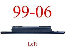 99 06 LEFT Slip-On Rocker Panel, 2Dr Regular Cab, Chevy GMC Truck, 2.0MM Thick