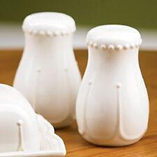 NEW Princess House Pavillion Salt & Pepper Shakers 1405