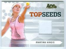 """MARTINA HINGIS """"TOP SEEDS MATCH WORN JERSEY CARD TS-2"""" ACE GRAND SLAM 2006"""