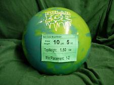 10# Former Display(wo orig box) Storm POLAR ICE Green/Blue URETHANE Bowling Ball