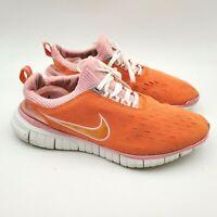 Nike Free Women's Orange Running Shoes Size 11