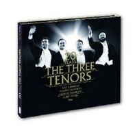 "CARRERAS/DOMINGO/PAVAROTTI ""DREI TENÖRE JUBILÄUMS-EDITION ""  CD + DVD NEU"