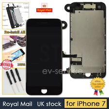 """Black Screen For iPhone 7 7G 4.7"""" LCD Touch Display Digitizer Replacement UK"""