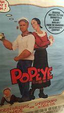 Popeye * Robin Williams * Original * 1980 * Movie Poster * 1 Sheet