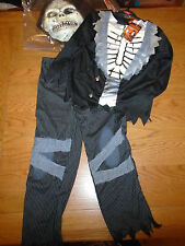 BNWT Smoking Scheletro Zombie Halloween Fancy Dress Up. 7-8 ANNI. Sainsbury (16)