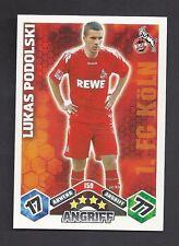 Lucas Podolski Match Attax 2010/11 Topzustand 1. FC Köln