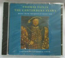 THOMAS TALLIS: THE CANTERBURY YEARS CD - MUSIC OF HENRY VIII - BRAND NEW
